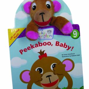 BABY EINSTEIN Peekaboo Baby Plush Board Book