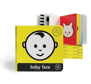 Mesmerised Baby Face Board Book
