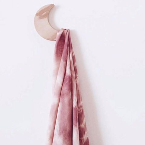 Blush Bamboo Cotton Tie Dye Swaddle