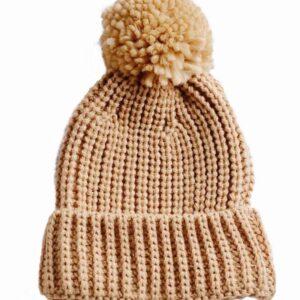 kids knit beanie